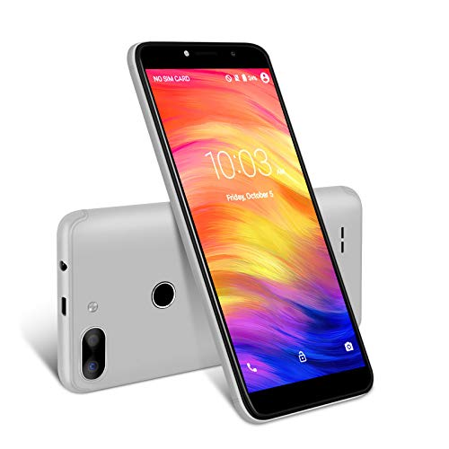 XGODY 3G Unlocked Cell Phones 5.5 inch 18:9 IPS Screen Display 5MP Dual Camera Global Band for T-Mobile/AT&T/MetroPCS 8GB Android 7.0(Gray)