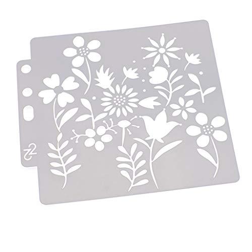 Schildersjablonen Bloemen Hothap Schildersjabloon Scrapbooking Stempelen Album Craft Flower