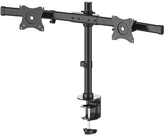 "Neomounts by Newstar FPMA-DCB100DBLACK crossbar monitorarm voor 2 flat screens t/m 27"" - Zwart"