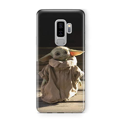 Ert Group Estuche para Samsung S9 Plus Star Wars Baby Yoda Original con Licencia Oficial, Carcasa, Funda, Estuche de Material sintético TPU-Silicona, Protege de Golpes y rayones, Multicolor