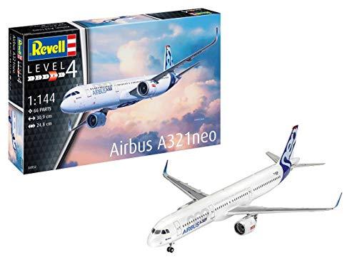 Revell- Airbus A321 Neo Kit di Modelli in plastica, Multicolore, 04952