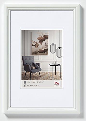 Walther Design Living Cornice, Legno, Bianco, 20 x 30 cm