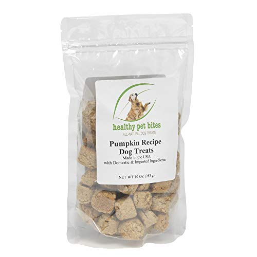Healthy Pet Bites Pumpkin Recipe Dog Treats All Natural NO PRESERVATIVES Wheat Corn and Soy Free Made in The USAwwwhealthypetbitescom