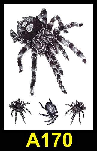 tzxdbh 5Pcs-European Blume Arm Tattoo Aufkleber wasserdicht langlebig Männer und Frauen großen halben Arm Tattoo Aufkleber 5Pcs-21X15cm