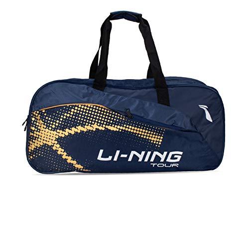 Li-Ning Tour ABDP392 Polyester Badminton Kit-Bag (Navy) with Shoe Bag