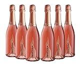 Bottega Poeti Rose Venezia Doc Spumante Brut - 6 Bottiglie da 750 ml