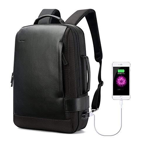 15,6 Zoll Laptop-Rucksack, Anti-Theft Business Rucksack mit USB-Port Charging Water resistenten Anti-Glare Functional Rucksack Licht-Weight Rucksack Rucksack für Männer