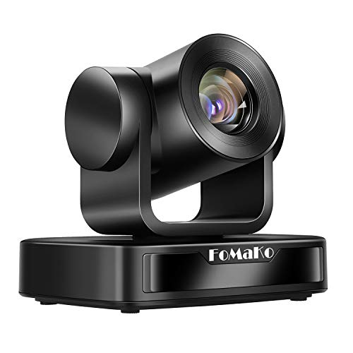 FoMaKo 10X Zoom HD 1080p Video Conferencing System, USB PTZ Conference Room Camera FMK102U