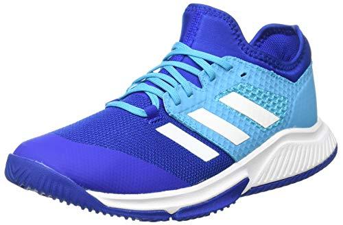 adidas Court Bounce M, Scarpe da Pallamano Man, Team Royal Blue/Ftwr White/Signal Green, 38 2/3 EU