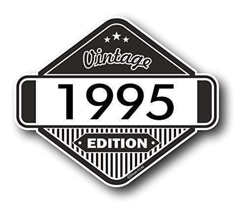 Sticar-It Ltd Clásico Edition 1995 Retro Clásico Vinilo Motos Cafe Racer Pegatina...