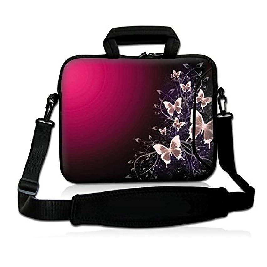 15.6-Inch Laptop Shoulder Bag Messenger Case Sleeve with Handle and Extra Pocket for 14