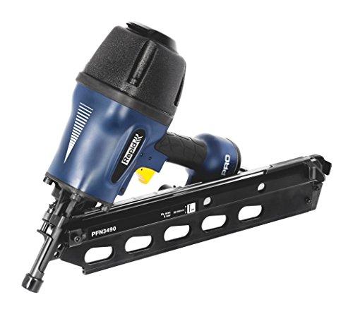 Rapid Druckluftnagler PFN3490 50-90mm, Streifennagler mit 34° Schrägmagazin für Streifennägel Typ 34, 50-90mm