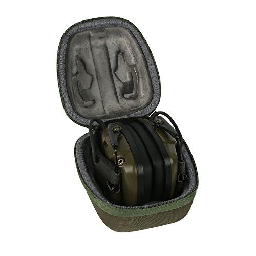 co2CREA EVA Viajar llevar Caja Bolsa Fundas Estuche Bag Case para Honeywell 1013530 Howard Leight Impact Sport orejeras(travel case)