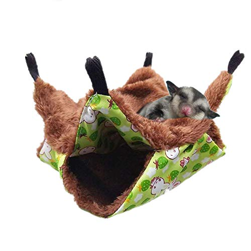 Oncpcare - Hamaca para jaula de roedores y pájaros