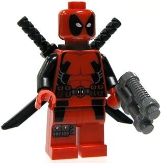 Lego Marvel Super Heroes Deadpool Minifigure by LEGO