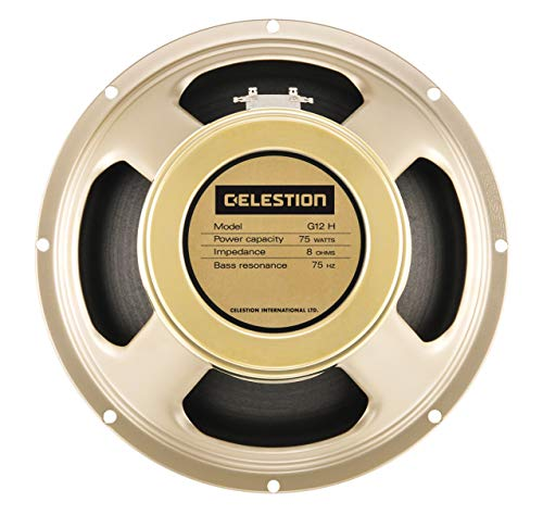 CELESTION G12H-75 Creamback Guitar Speaker (T5891)