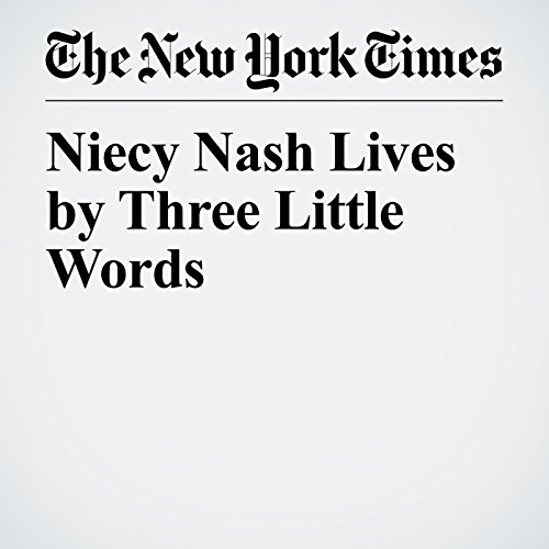 Niecy Nash Lives by Three Little Words copertina