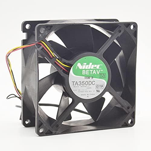 Cooling fan For Nidec M34789-57 TA350DC,9238 DC12V 1.00A 90mm low noice fan