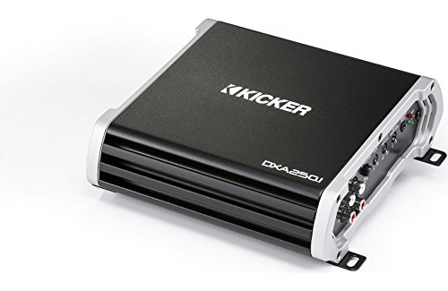 Kicker 43DXA2501 Car Audio Class D Subwoofer Amplifier 500W Sub Amp DXA250.1 (Renewed)