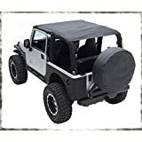 Smittybilt 93735 Extended Top for 2004-2006 Jeep Wrangler LJ Unlimited