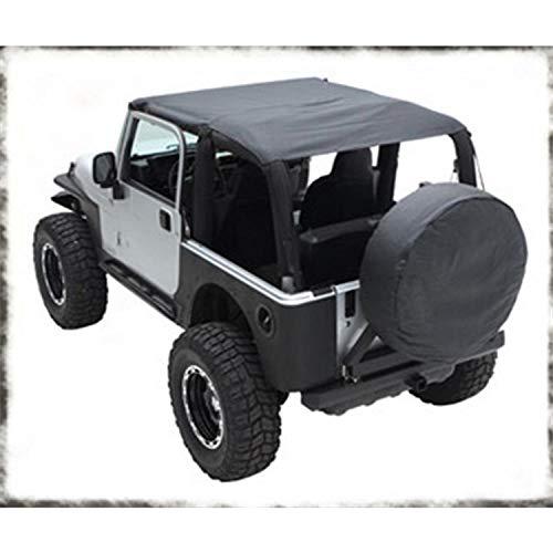 Smittybilt 93735 Extended Top for 2004-2006 Jeep Wrangler LJ Unlimited
