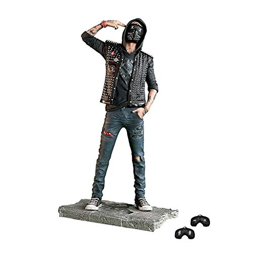 YYBB Watch Dogs 2: Die Schlüssel Statuette Action Figure Model Collection Meisterwerk Geschenk Dekoration Spiel Models Figurines