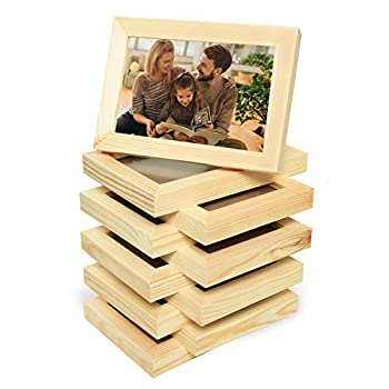 Best unfinished wood picture frames Reviews