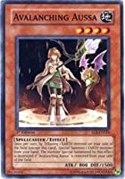Yu-Gi-Oh! - Avalanching Aussa (EOJ-EN026) - Enemy of Justice - 1st Edition - Common