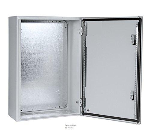 ELDON Schaltschrank, Wandgehäuse eintürig mit Montageplatte (HxBxT/mm) 600X 400X 210