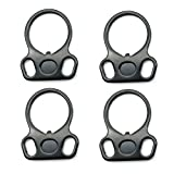 SOMA QD Sling Mount 2 Point Straps Buckle Sling Ring Attachment Connection Hand Tools(4-PCS)