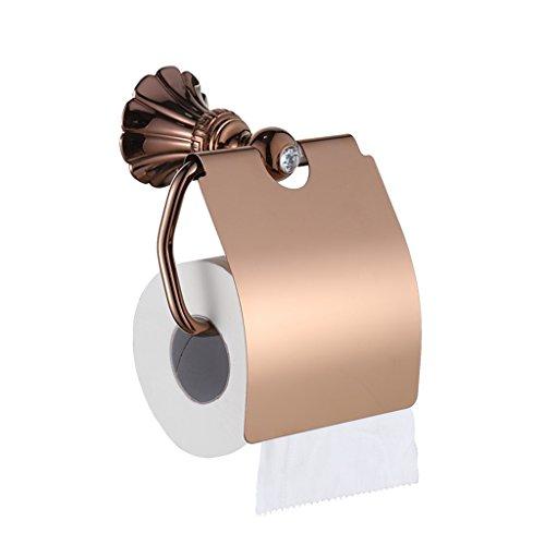BOBE Shop- Porte-Serviette en Papier de Style européen Type de Demi-Paquet Coffret en Tissu Cuivre Équipement de Salle de Bains Quincaillerie