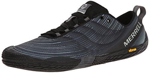 Merrell Men's Vapor Glove 2 Trail Running Shoe, Black/Castle Rock, 11...