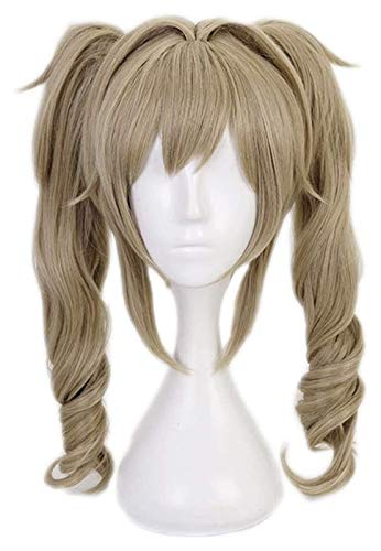 Anime Wig, Free Wig Hat, My Hero Academia Costume Long Curly Hair, Girls Party Wig, Anime Cosplay Wig, Suitable for Halloween, Party, Carnival, Nightlife, Concert, Wedding