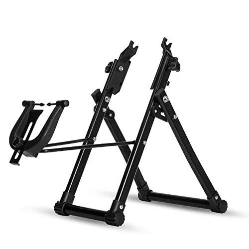 LXGANG - Soporte de bicicleta para ruedas de bicicleta (24 a 28 pulgadas)