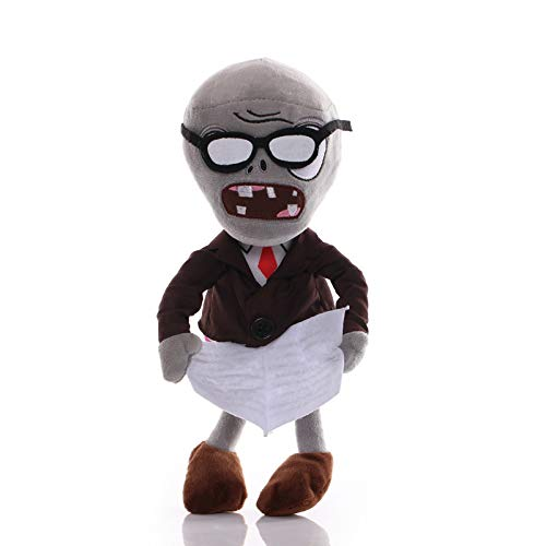 1pcs 30cm Plants vs Zombies Plush Toys Doll Duck Hats Pirate Zombies Plush Soft Stuffed Toys for Children Kids Gifts (Color : Style4)