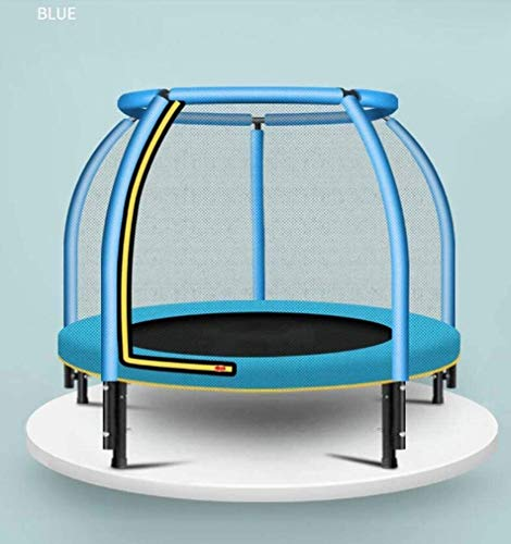Suge 4Ft Outdoor Kids Trampoline with Safety Enclosure Net for Kids, Maximum Load 200Kg