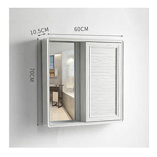 ZHANG HUA-tafellamp Z-H aluminium van de Feng Shui schuifdeur badkamer verborgen spiegel badkamerspiegel met planken aan de muur spiegel