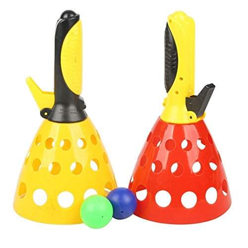 2heet Twin Ball Game Indoor Outdoor Games Toys Set for Kids   Pop & Catch Ball Play Fun for Boys & Girls