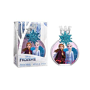 Frozen, Elsa, Anna, Disney, Princess, Fragrance, for Kids, Eau de Toilette, EDT, 3.4oz, 100ml, Perfume, Spray, with…