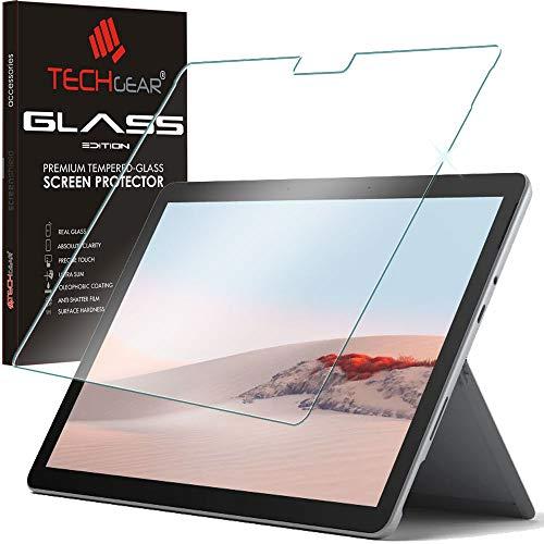 TECHGEAR Surface Go Matt Panzerglas - Matte Blendschutz Panzerglas Auflage, Original-gehärtetes Glas-Displayschutzfolie kompatibel mit Microsoft Surface Go