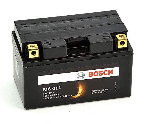 Bosch M6011 Batería motocicleta YTZ10S-4 /  YTZ10S-BS - 12V AGM 8A/h-150A
