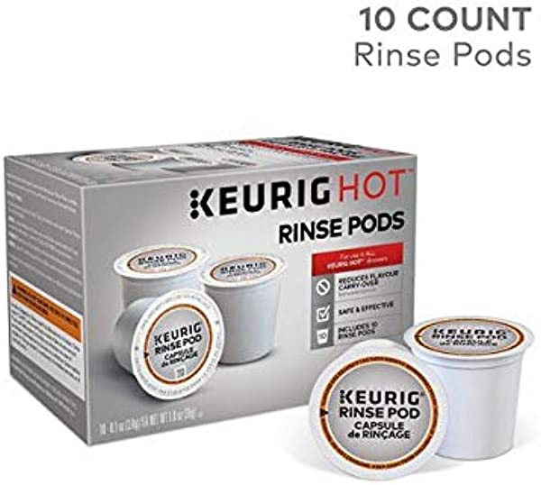 Keurig Rinse Pods Reduces Flavor Carry Over Compatible With Keurig Classic 1 0 2 0 K Cup Pod Coffee Makers 10 Count