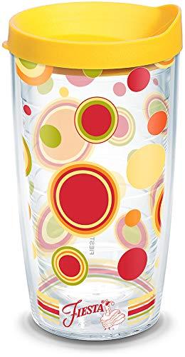 Tervis Fiesta 16oz vaso de Sunny diseño de lunares vaso