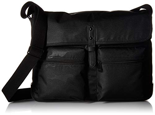 Price comparison product image Fossil Men's Buckner Messenger Black Travel Cross-Body Bag,  One Size