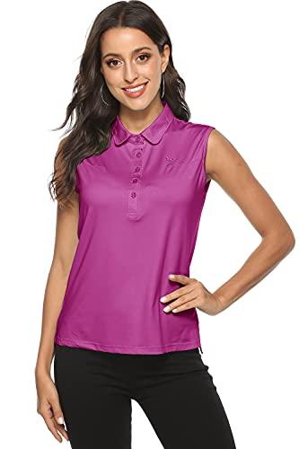 AjezMax Camiseta sin mangas para mujer, de secado rápido, para correr, deportes