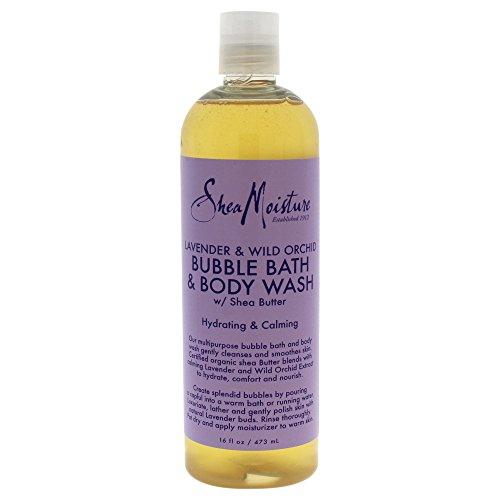 SHEA MOISTURE Lavender & Wild Orchid Bubble Bath & Body Wash