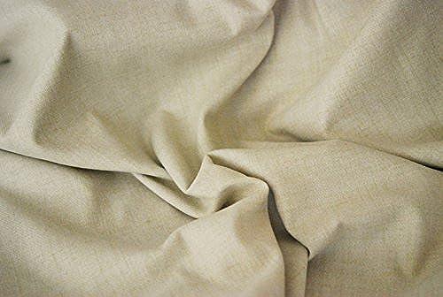 Aran Wolle Optik Ein wie Tweed Stoff - Auster - 10Mtrs 1000cm x 150cm