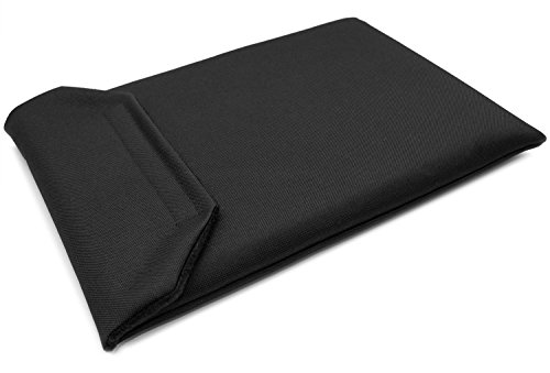 CushCase Sleeve Case for Razer Blade 15 inch Laptop - 2018-2021 Models - Canvas (Black)