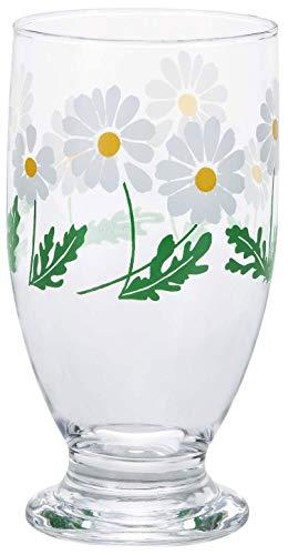 アデリア(ADERIA) タンブラー 野ばな 335ml 台付きグラス アデリアレトロ 日本製 1858