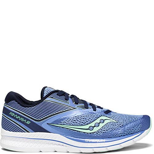 Saucony Women's Kinvara 9 Running Shoe, Blue/Teal, 8.5 Medium US